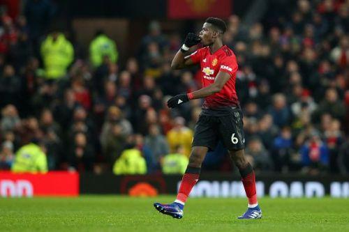 Pogba led United's late charge