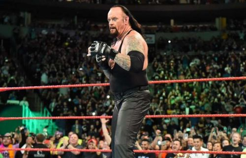 The Undertaker's last match in the WWE was at Crown Jewel