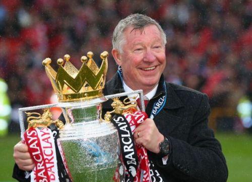 Sir Alex Ferguson won the Premier League a record 13 times
