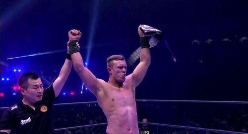 Will Ospreay emerged victoriously!