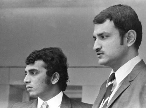 Wadekar and Gavaskar- two stalwarts of Indian Cricket