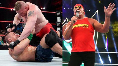 Brock Lesnar, John Cena and Hulk Hogan will be on RAW tonight!