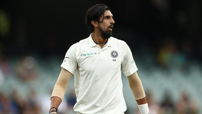 Ishant Sharma was not at his lethal best
