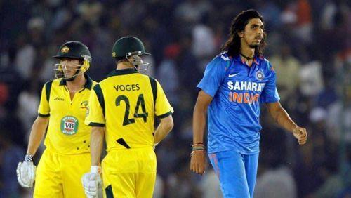 4,6,6,2,6,6 - Ishant Sharma to James Faulkner