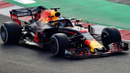 Australia's Daniel Ricciardo piloting the RB14 in 2018