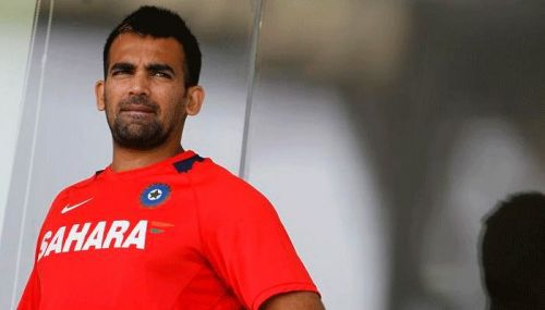 Zaheer during a training session