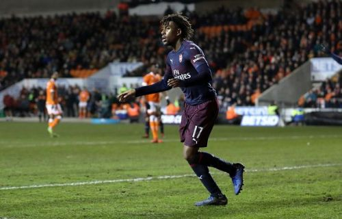 Iwobi has just started to find some rhythm in his game