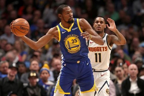 Kevin Durant is averaging 27.7 points per game this season