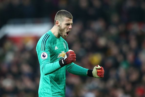 David De Gea continues to be Manchester United