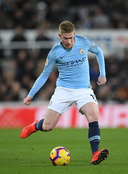 IN DE MONEY: Kevin De Bruyne, just one of an array of world-renowned stars in the Premier League