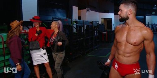 Why did Lacey Evans make such a strange cameo on RAW?
