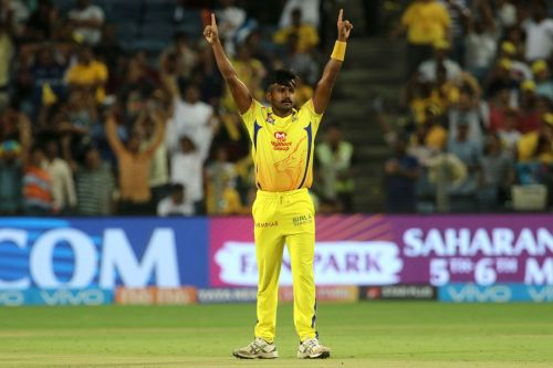 KM Asif played three matches for CSK last year