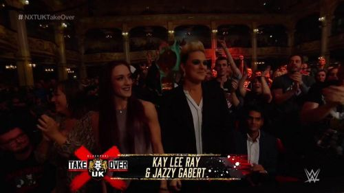 Kay Lee Ray and Jazzy Gabert were in Blackpool