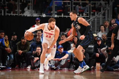 Blake Griffin is averaging a career-high 25.5 ppg this season.