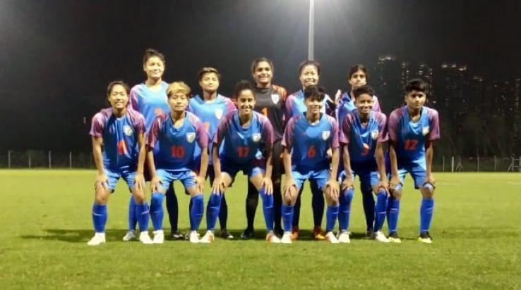 Dangmei Grace s Brace helps Indian Women s Football Team thrash Hong ... f1a509f9fc
