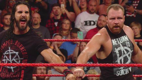 Ambrose vs Rollins has just begun