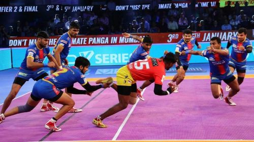 Nitesh Kumar's High-5 went down in vain as his side lost the encounter