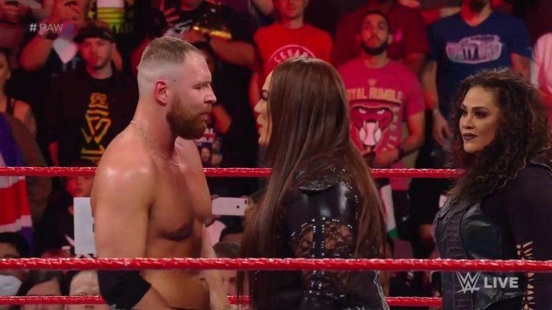 Nia Jax made a statement on RAW