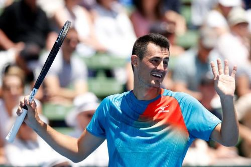 Tomic, who is currently ranked 85 in the world, was the better player throughout the match