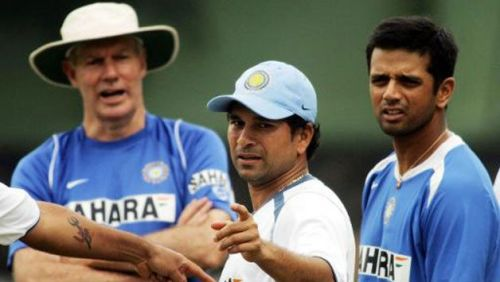 Greg Chappell was appointed as the coach of the Indian team in 2005