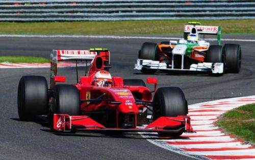 F1 Grand Prix of Belgium - Race where Fisichella collected a fighting P2 for Force India