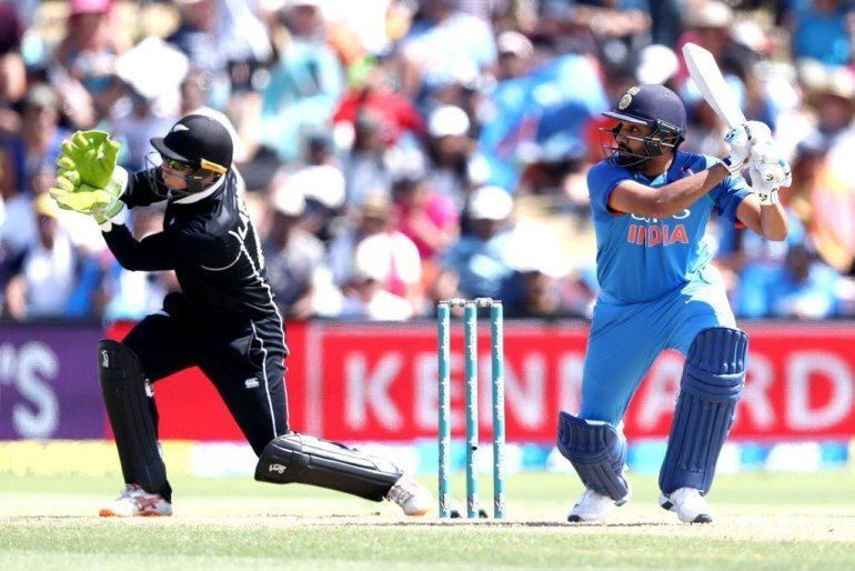 Rohit Sharma was awarded Player Of the Match for his brilliant batting performance.