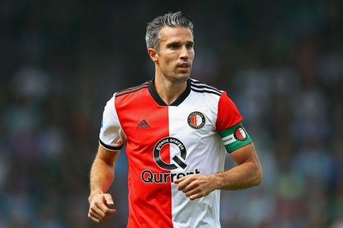 Van Persie during De Graafschap v Feyenoord - Eredivisie