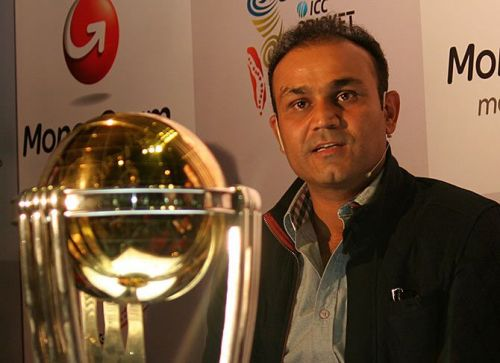 Image result for virender sehwag with world cup