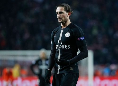 Paris Saint Germain midfielder Adrien Rabiot could be on the move this winter