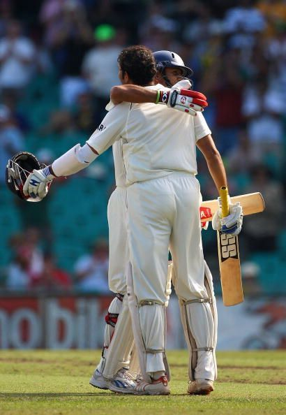 VVS Laxman- Rahul Dravid put on 303 runs to help India win the famous Adelaide test in 2003