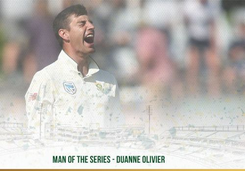 Duanne olivier- Man of the series