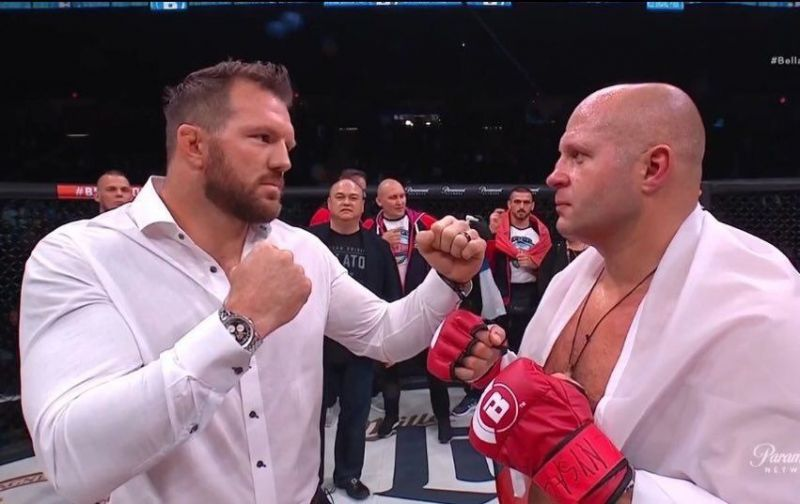 Ryan Bader faces the legendary Fedor Emelianenko later in January