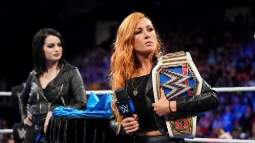 Becky Lynch could play a big part in The Royal Rumble