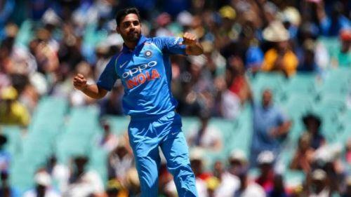 Bhuvneshwar claimed his 100th ODI victim