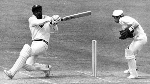 Viv Richards in action for West Indies