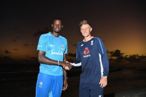 Jason Holder and Joe Root are set perform captaincy duties in test series