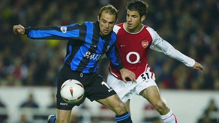 Fabregas made his Arsenal debut at the age of 16