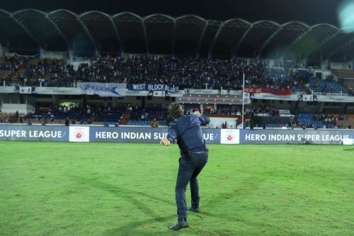 Cuadrat and his fist-pumps will be the lasting image of this season for Bengaluru FC fans