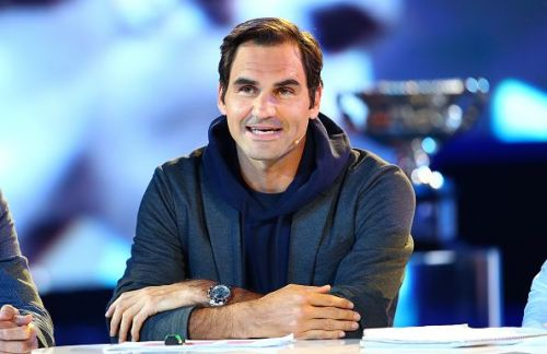 Roger Federer will be in action in the afternoon session
