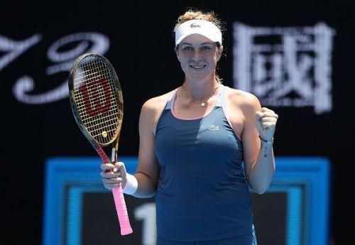 2019 Australian Open - Day 3 - Anastasia Pavlyuchenkova feels delighted after her win
