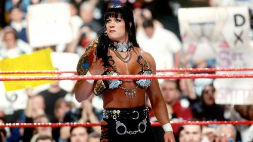 Chyna was the first woman to ever work a Royal Rumble match.