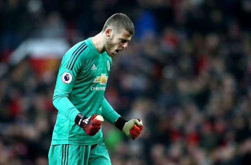 De Gea returns to the starting lineup after being rested against Arsenal in the weekend.