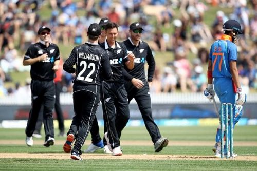Trent Boult's five-wicket haul demolished India to a paltry total