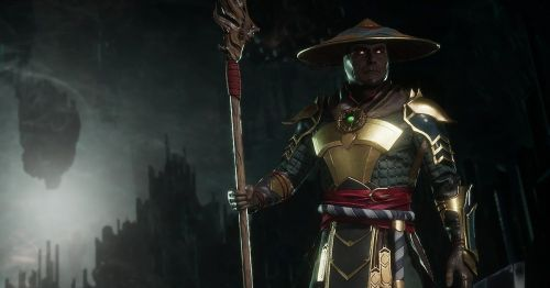 Raiden's trademark staff returned in the Mortal Kombat 11 trailer
