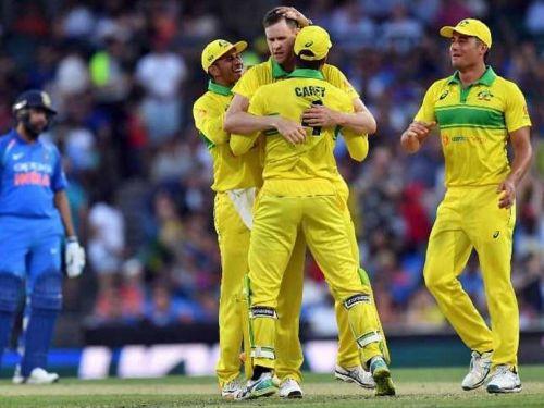 Australia beat India by 34 runs in first ODI