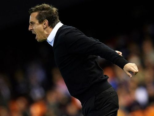 Everything went against Neville in a dismal tenure at the Spanish giants