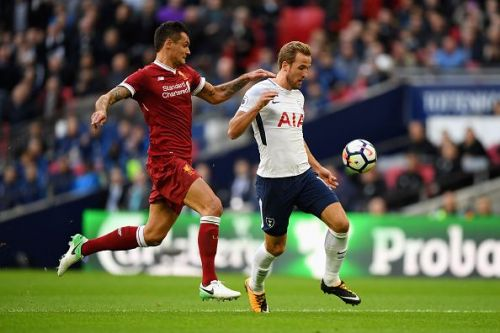 Lovren struggled against Tottenham at Wembley last season