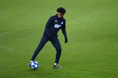 Reiss Nelson at Hoffenheim.