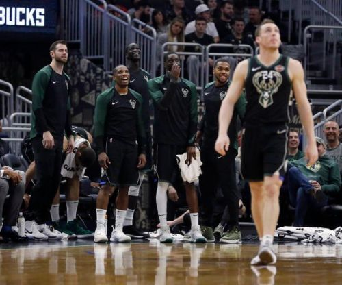 The Bucks players did a great job on the offensive end