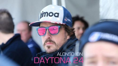 Fernando Alonso has his eyes trained on winning Daytona 24